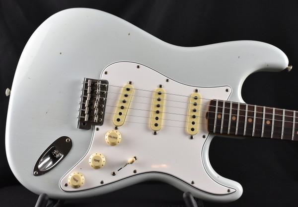 Fender Custom Shop 64 Journeyman Relic Stratocastor Super Faded Sonic Blue