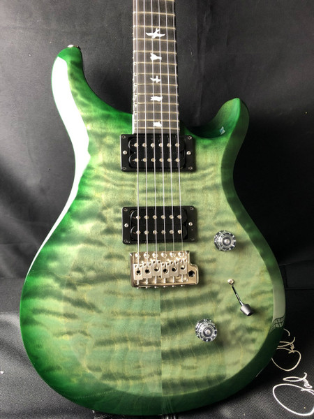 PRS S2  Custom 24 Custom Color Trampas Emerald Burst