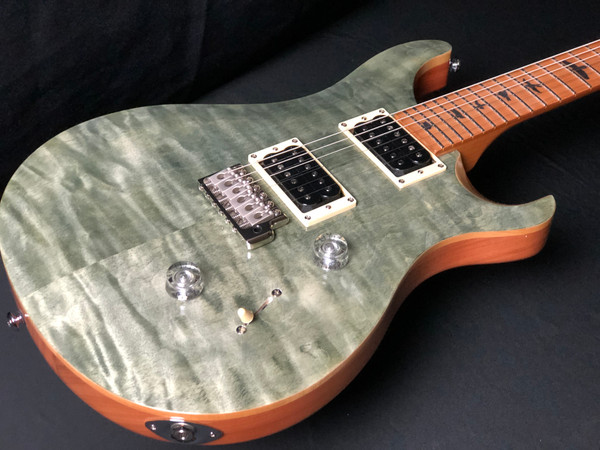 PRS SE Custom 24 - Roasted Maple Limited Edition Trampas Green