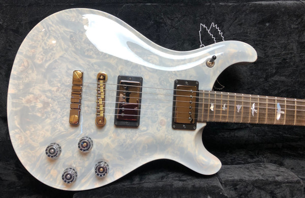PRS Paul Reed Smith Private Stock # 7950 White Washed 594 McCarty w/ Brazilian Neck