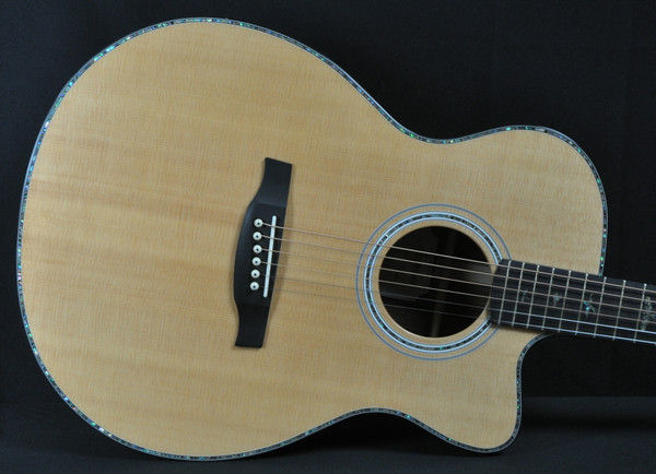 PRS SE AE265PF - Natural Top Pau Ferro Back and Sides