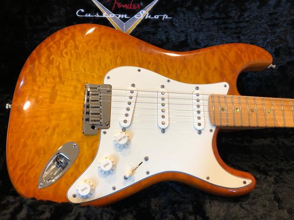 Fender Custom Shop Custom Deluxe Stratocaster 2013 Faded Honey Burst w/ ABBY Pickups