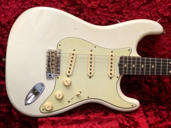 "Fender Custom Shop LIMITED EDITION ""59 SPECIAL"" JOURNEYMAN RELIC® Aged Olympic White STRAT®"