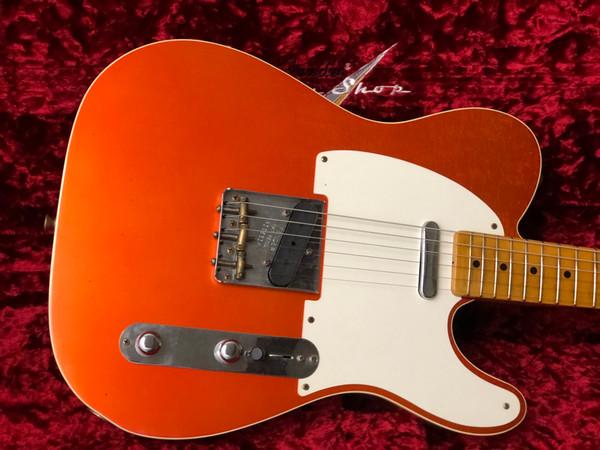 Fender Custom Shop Winter NAMM 2020 Ltd 50s Journeyman Telecaster Aged Candy Tangerine