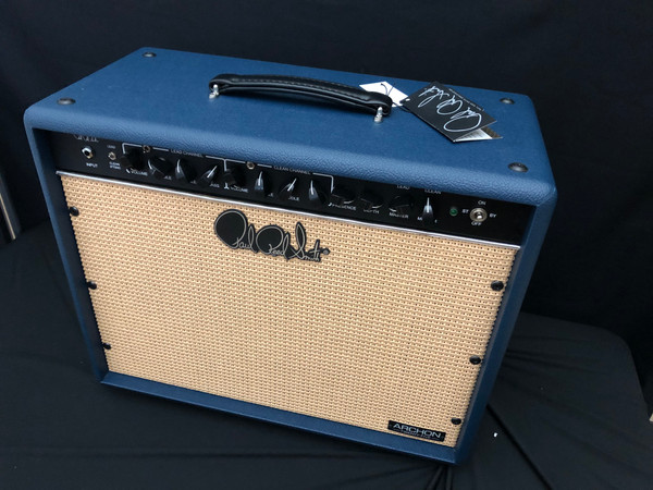 """PRS Limited Edition Archon 25w 1x12"""" Combo Amplifier Special Blue Tolex and Cane Grille"""