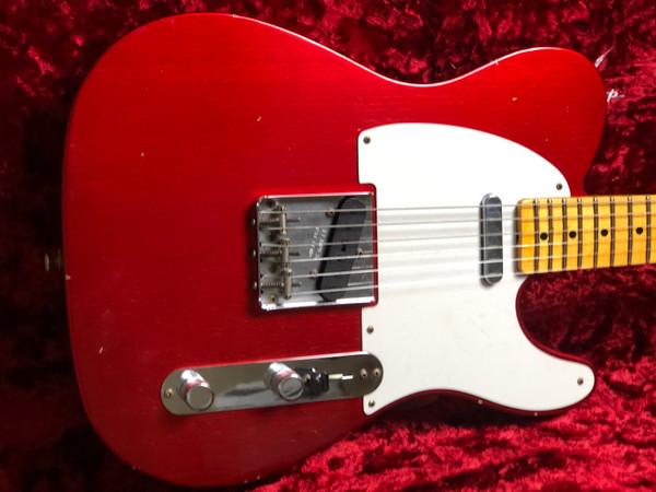 Fender Custom Shop 1957 Telecaster Journeyman Aged Candy Apple Red