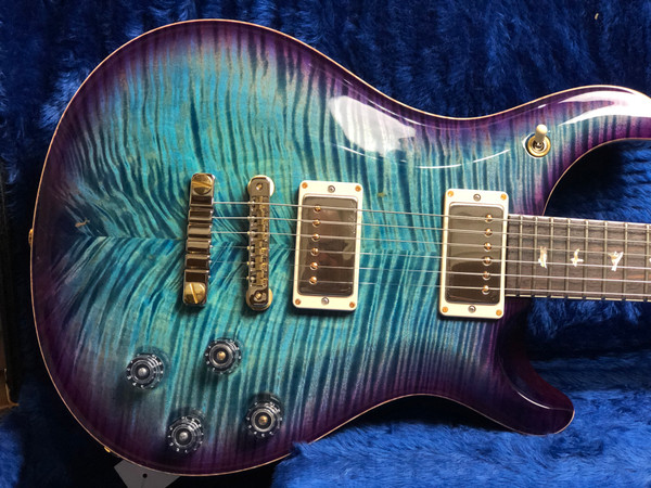 PRS Paul Reed Smith 594 McCarty Artist Package 2021 Aquamarine Violet Burst