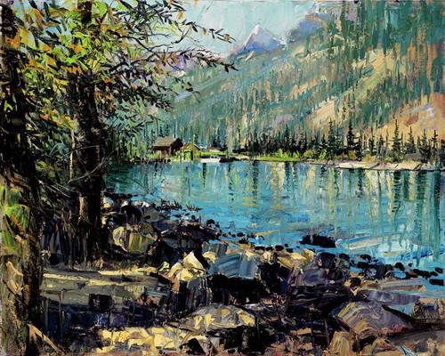 Jenny Lake   Giclee Print