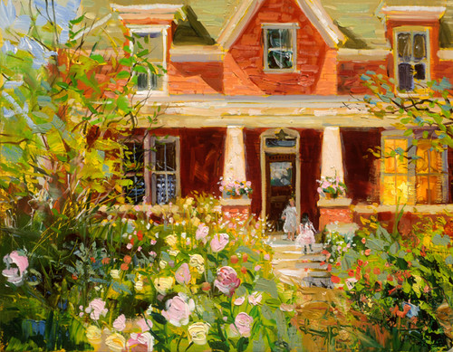 Front Porch  Giclee Print