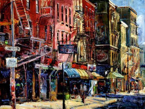 Street Patterns Giclee Print