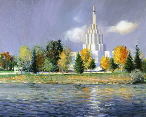 Idaho Falls Temple   Giclee Print