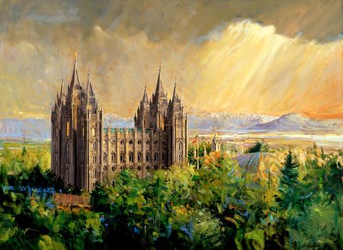 Salt Lake Temple Giclee Print