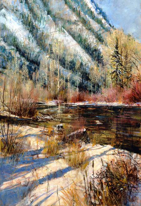 Logan River   Giclee Print