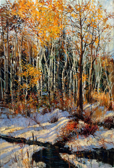 Winter Brook   Giclee Print