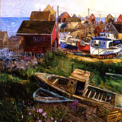 West Dover Nova Scotia   Giclee Print