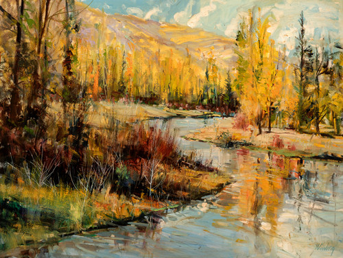 Flat Creek Autumn Original