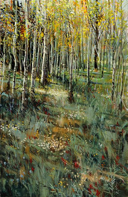 Aspen & Paintbrush  Giclee Print