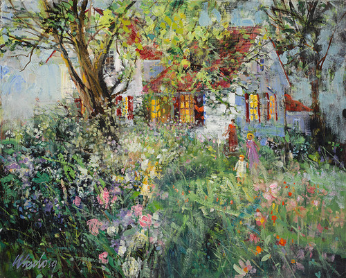 Heart of the Garden   Giclee Print