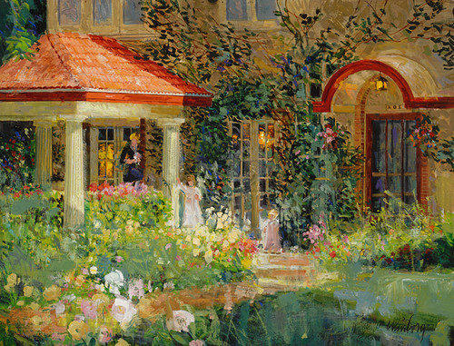 Sun Porch  Giclee Print