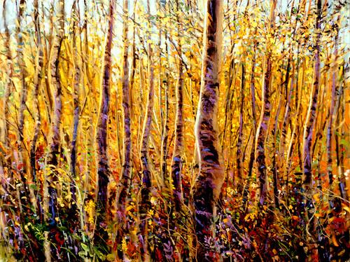 Aspen Glow Giclee Print