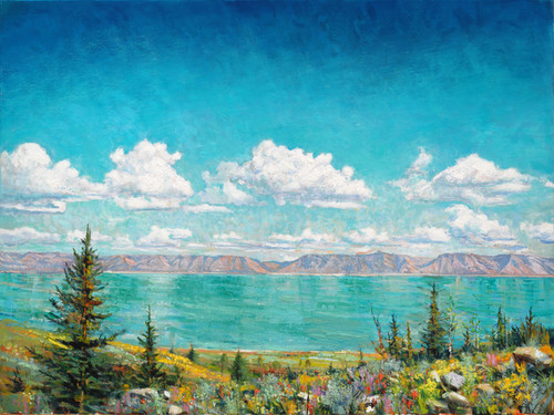 Bear Lake  Giclee Print