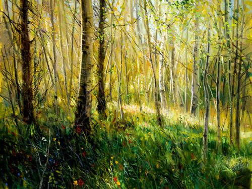 Aspen Grove  Giclee Print