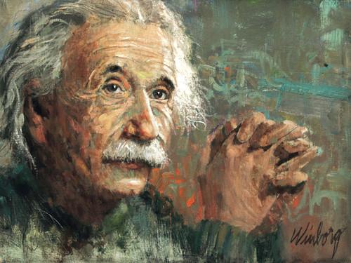 Einstein Giclee Print