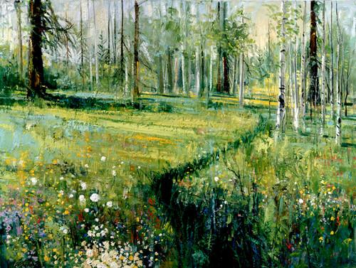 Aspen Meadow  Giclee Print
