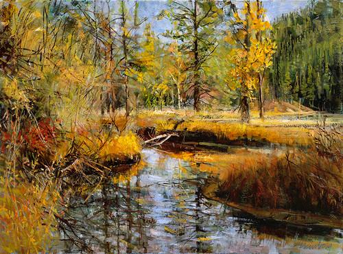 Beaver Creek  Giclee Print
