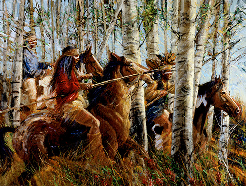 Mescalero Hunting Party