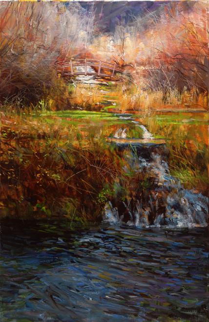 Cascade Springs  Giclee Print