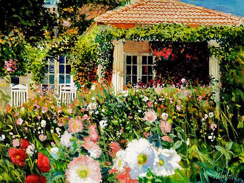 Flowered Porch