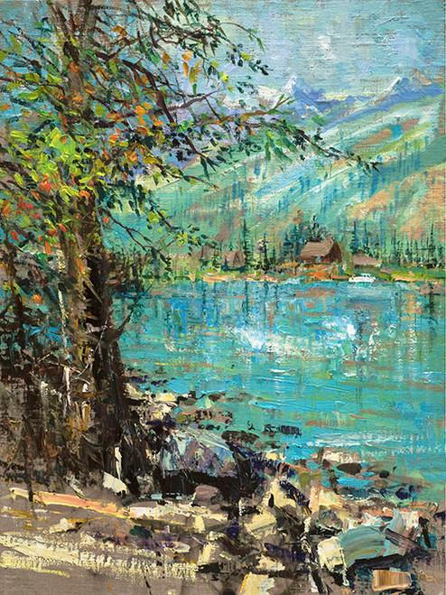 Jenny Lake (Vertical)
