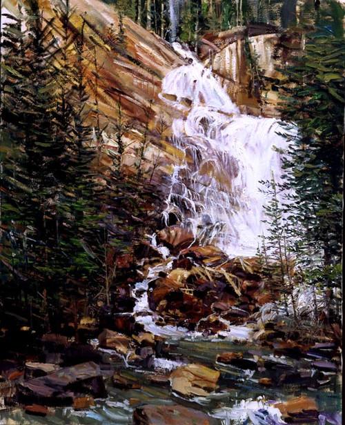 Hidden Falls  Giclee Print