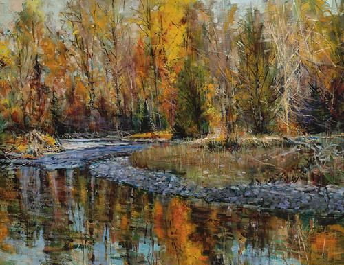 Late Fall Cottonwood Creek