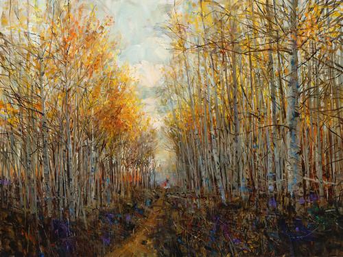 Aspen Path Giclee Print