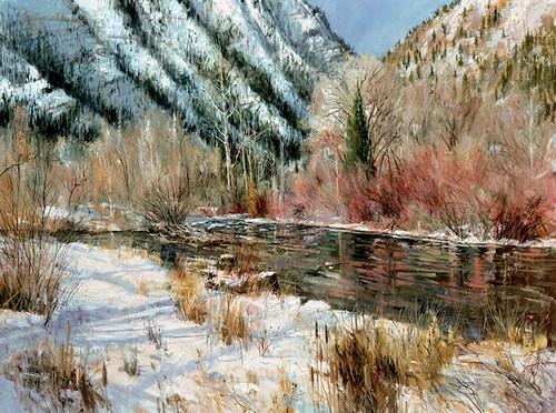 Logan River (horizontal) Giclee Print