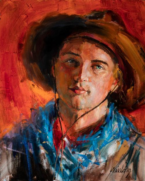 A Young Cowboy  Original
