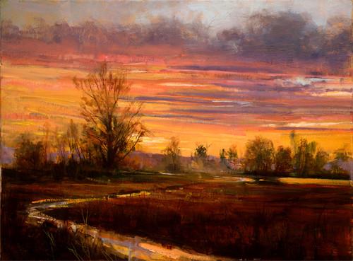 Evening Glow  Giclee Print