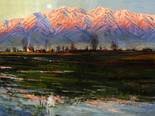 Cache Valley for Hope  Giclee Print