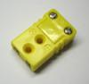 sumbiniature female thermocouple connector