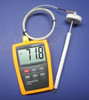 Digital Thermometer with high temperature K-type thermocouple for kiln, oven, forge, furnace CR-7
