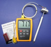 K-Type Thermometer w High Temperature Ceramic Probe Furnace Kiln CR-7