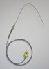 Ultra Thin 1 mm Stainless Steel K-type Thermocouple Probe 12 inch