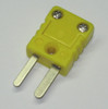 K-Type Thermocouple extension cable wire standard to miniature mini connector