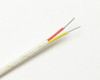 Double insulated AWG24 K-type thermocouple wire