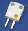 Ultra High Temperature Ceramic Mini K-Type Thermocouple Connector Male Plug