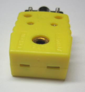 Mini K-Type Thermocouple Connector Female Socket with Strain Relieve