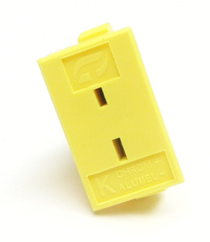 Panel mount K-type thermocouple socket for miniature mini plug