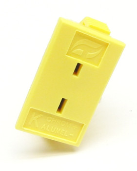 Panel Mount Socket for Mini K-type Thermocouple Connector